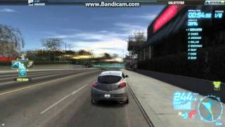 NFS World-Renault Megane (683=A) Lions Challenge in 2:01.83