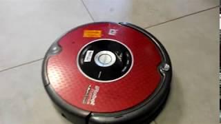 iRobot Neato uk service center - robotclinic.co.uk - Roomba 625 post-repair test