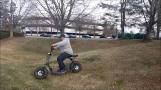 2017 5000w City Coco Electric Scooter | Koowheel Electric Scooter | 25+ MPH Mall Ride