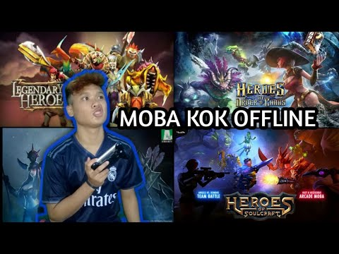 4 Game Offline Mirip MOBILE LEGENDS