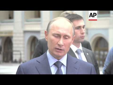 President Putin on cooperation with the FBI on the US bombers investigation
