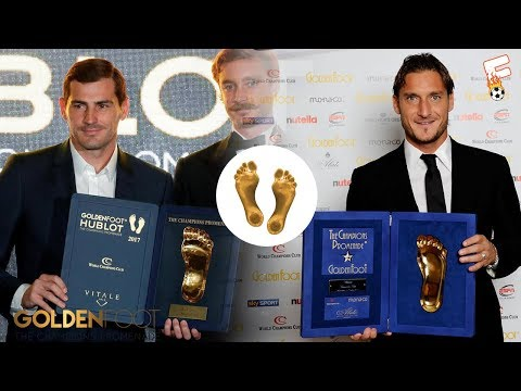 GOLDEN FOOT AWARD WINNERS 2003 - 2017 ⚽ FOOTCHAMPION