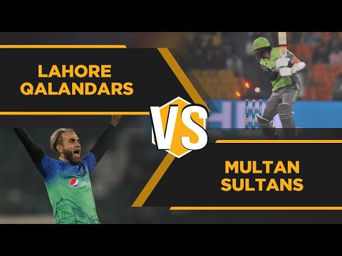 Boom Boom Winning Knock   Lahore Qalandars vs Multan Sultans   Highlights   Match 3   HBL PSL 5