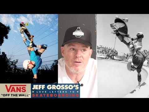60 Seconds with Grosso: 10 Best Handplants | Jeff Grosso's Love Notes | VANS