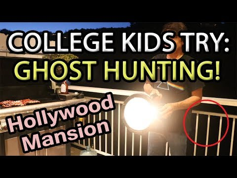 COLLEGE KIDS TRY GHOST HUNTING: BEVERLY HILLS MURDER | Ballin' On A Budget - Kevin Wei TV Ep. 5