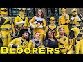 The Yellow Fellows [BLOOPERS] Power Rangers   Super Sentai