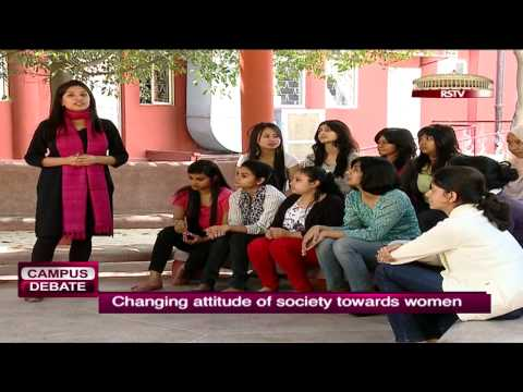 Campus Debate - Changing attitude of society towards women (Lady Shri Ram College)