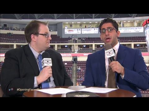 1/14/18 -  Lehigh Valley Phantoms @ Hershey Bears - Opening Face-Off Show
