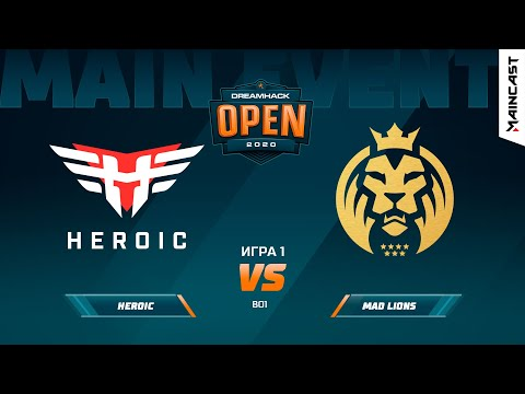 Heroic vs MAD Lions vod