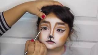 Easy Face Painting for Kids / Christmas  Edition