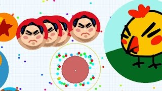 Agar.io DESTROYING TEAMS with Top Agar.io Players in ArcadeGo Clan (Agario Live Stream)