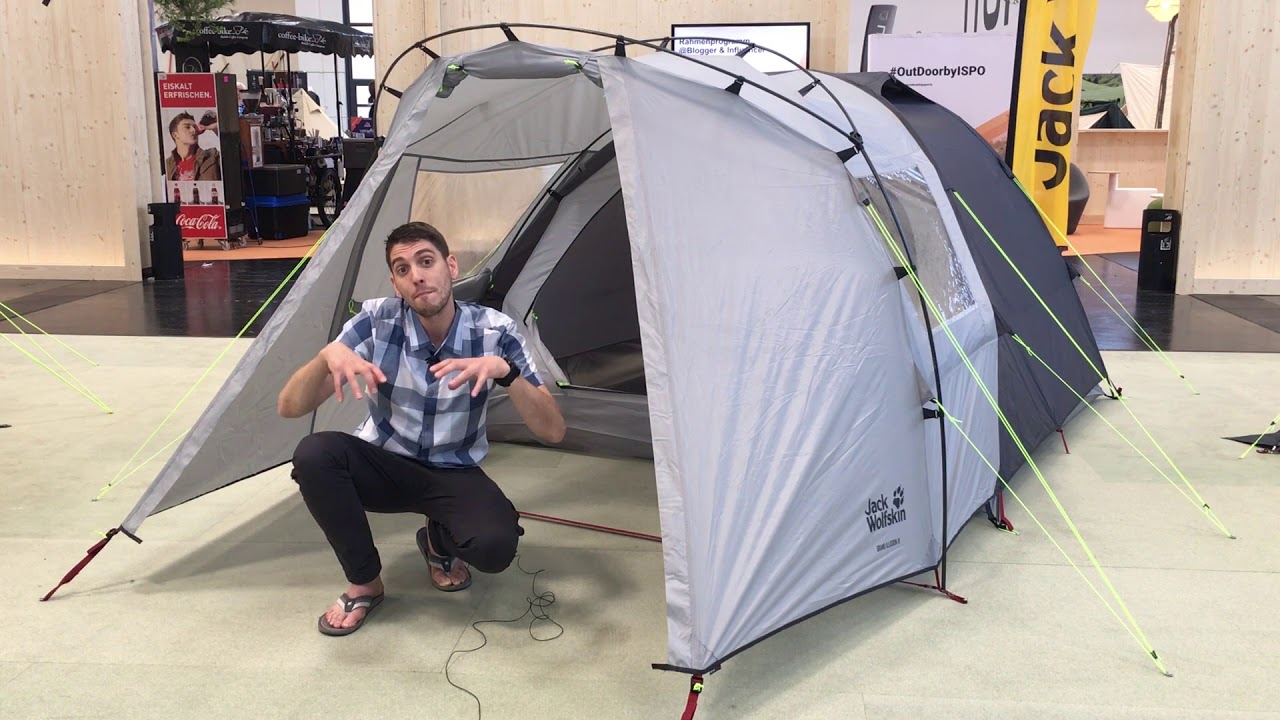 Jack Wolfskin Grand Illusion IV FR 4 Person Tent