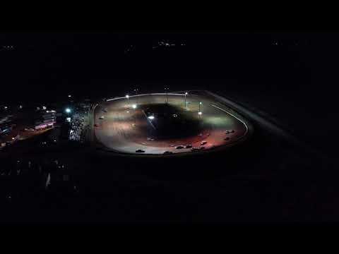 Stuart Speedway Night Flyover - Mavic Pro 2