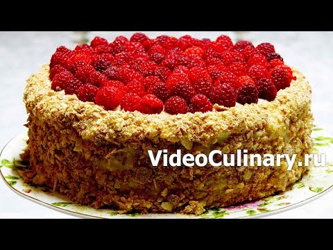 Простой Торт Наполеон к новому году — рецепт Бабушки Эммы