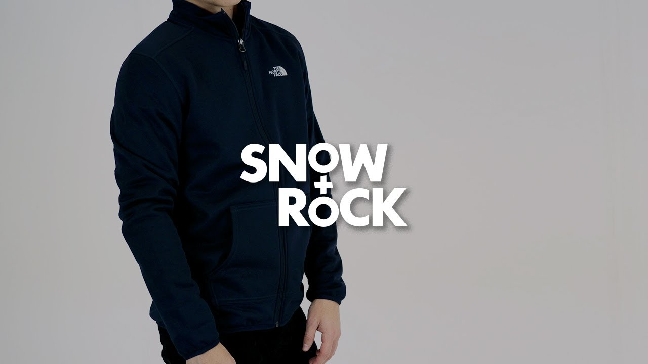 fe04c74ea943 The North Face Tanken Full Zip Mens Jacket by Snow+Rock - YouTube