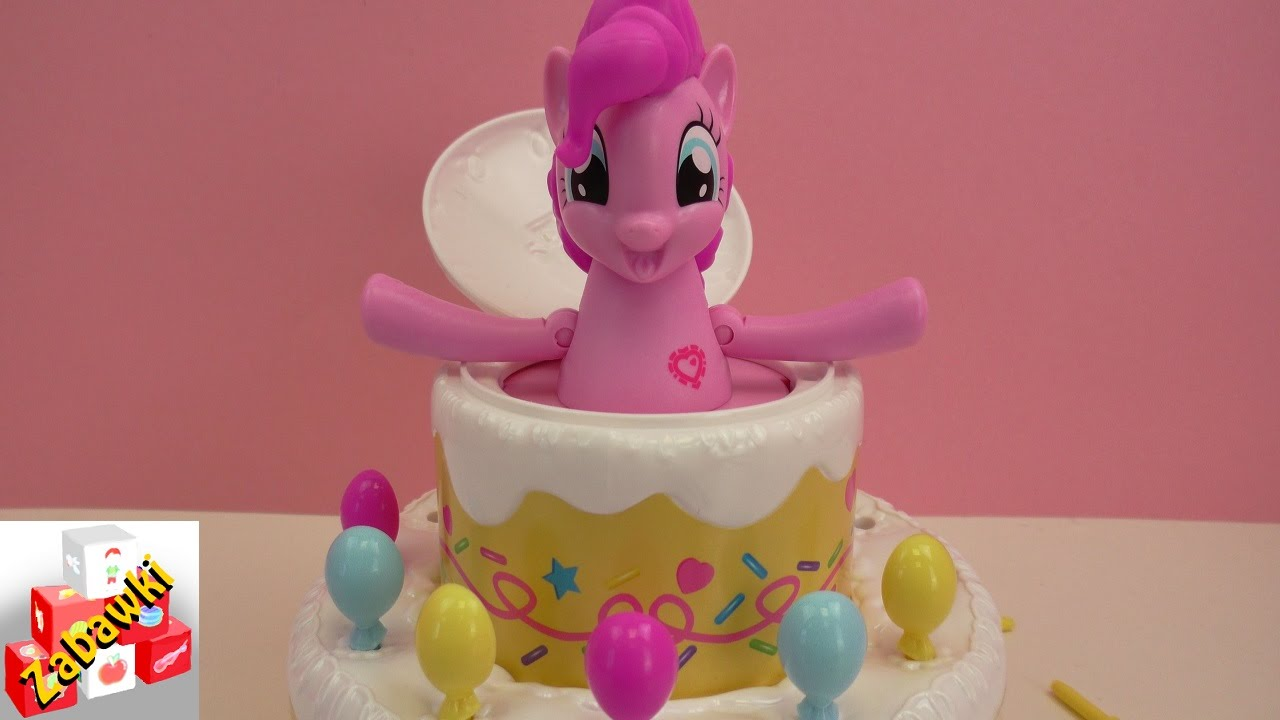 Pop Out Birthday Cake
