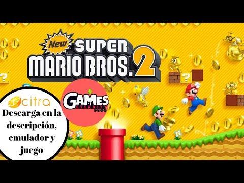 Download New Super Mario Bros 2 Citra Emulator 0 1 452 Cpu