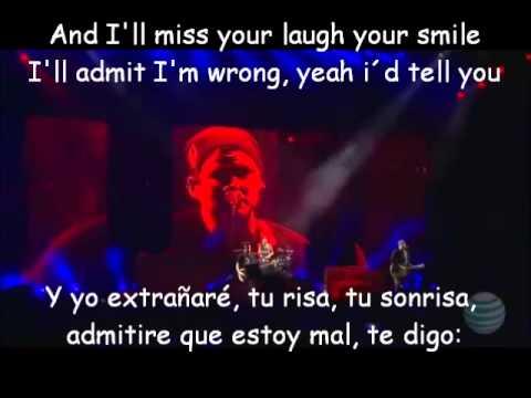 Blink 182-Always Lyrics y Subtitulada LIVE 2011