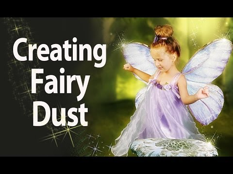 How To Create Fairy Pixie Dust And Shooting Stars - Photoshop Tutorial