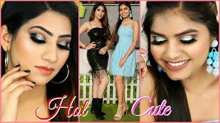 HOT vs CUTE - New Year MAKEUP Look | #GRWM #Beauty #Anaysa