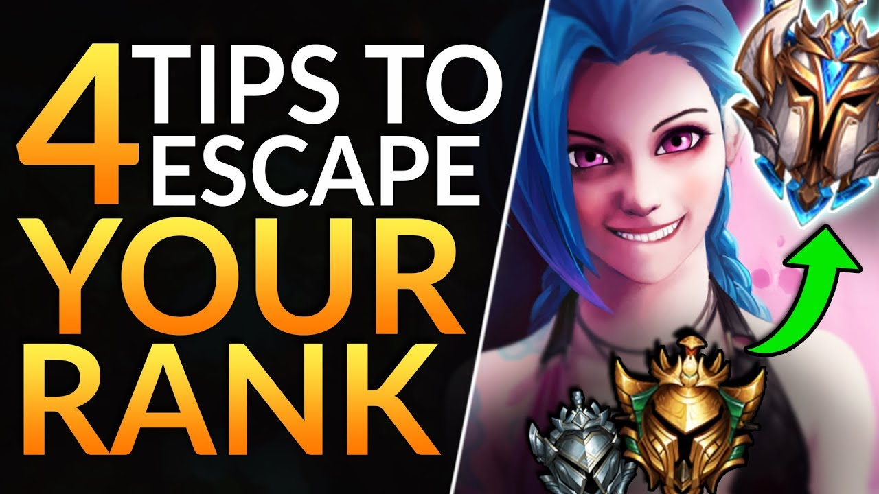 4 Tricks You Must Know To Escape Gold And Silver Best Tips To Rank Up League Of Legends Guide Youtube
