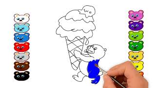 3D animation , coloring page , drawing , arts , video scribe