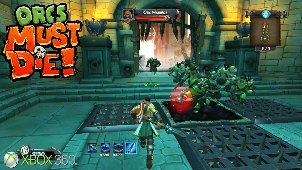 orcs must die xbox 360 xbla gameplay 2011 - Orcs Must Die