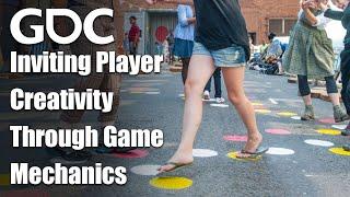 Inviting Player Creativity Through Game Mechanics