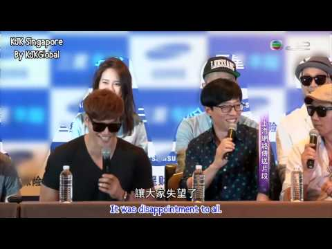 [EngSub] Running Man Attend Charity Match in Shanghai