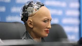 Робот София впервые приехала в Украину | Ранок з Україною