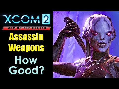 XCOM 2: Are the Assassin's Weapons Good?...