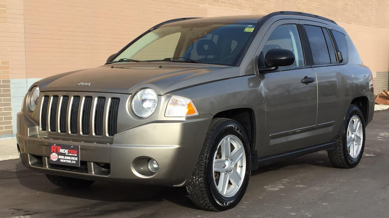 2008 jeep compass sport 4wd - automatic, power windows & locks