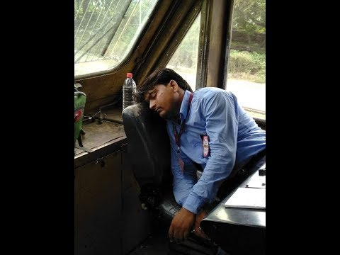 Hunger strike of indian Railway Loco Pilot. Hunger strike 48 hours