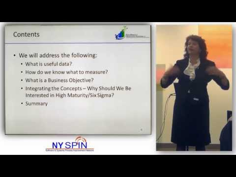 NY SPIN: Defining and Measuring Goals and Business Objectives  (Margaret Tanner Glover)