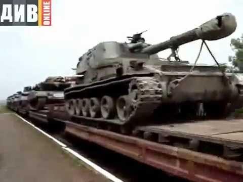 19 мая, Военная техника хунты, с боевиками, едет на ДНР