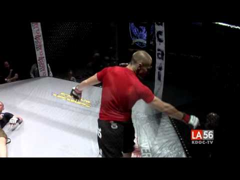 4 Second Brazilian Kick from Garrett Whitman on the LA56 KDOC-TV/Getdown 6 Broadcast