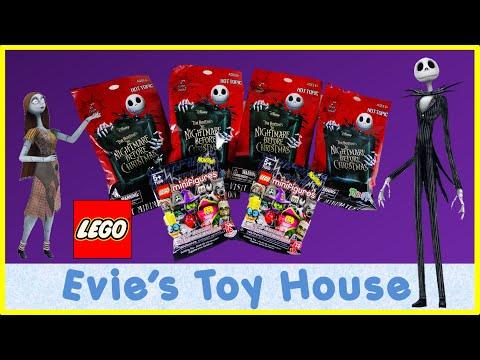 BLIND BAGS - Nightmare Before Christmas MiniMates & LEGO Monster