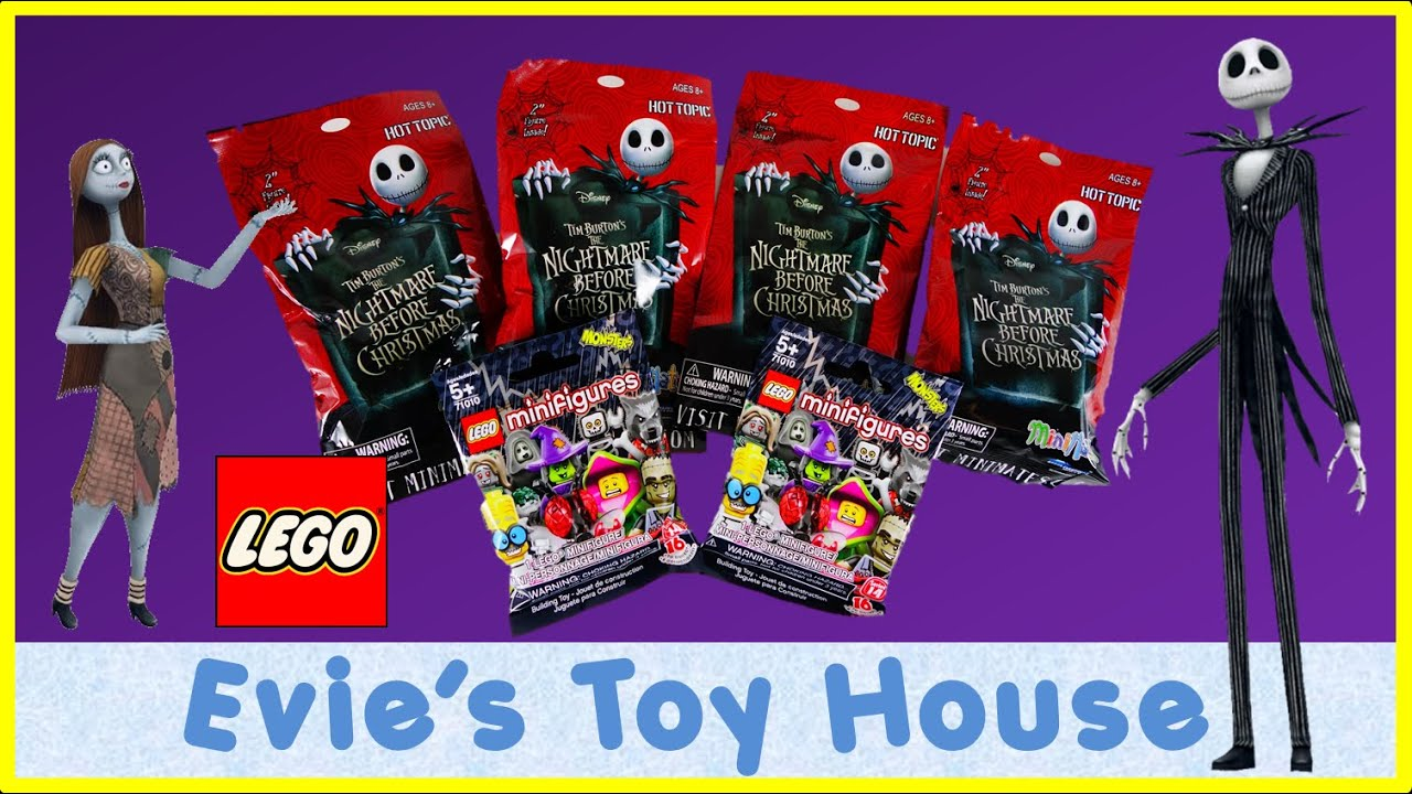 BLIND BAGS - Nightmare Before Christmas MiniMates & LEGO Monster ...
