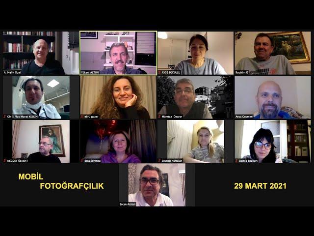 Anadolu Sağlık Merkezi - Mobil Fotoğrafçılık semineri - 29 Mart 2021