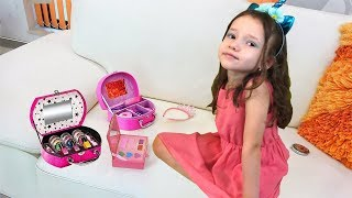 Ulya Waiting For a Papa, Dresses up and does Makeup