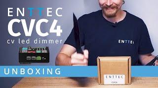 The ENTTEC CVC4 LED dimmer: Let's get stuck in!