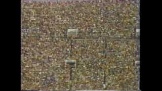 国立65000人大観衆。早稲田に本城、明治に藤田、岸、高田建造...。世界...