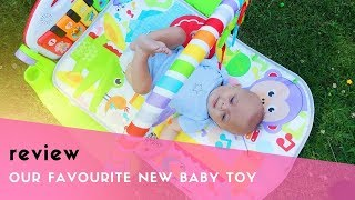 FISHER-PRICE® DELUXE KICK & PLAY PIANO GYM REVIEW & UNBOXING #ad