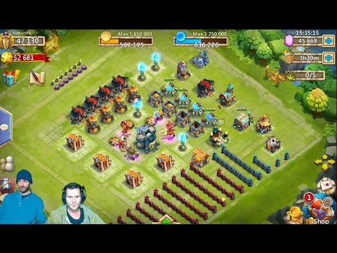 JT And Mj8 Rolling 45000 Gems For Talents Castle Clash