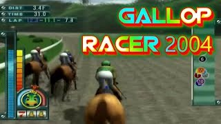 Gallop Racer 2004 Playstation 2 Gameplay Walkthrough Horse Racing Games For PS2 Commentary Day 48