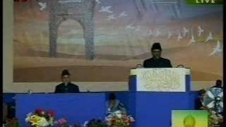 Jalsa UK 2007 Speech by National Ameer Sahib UK 1