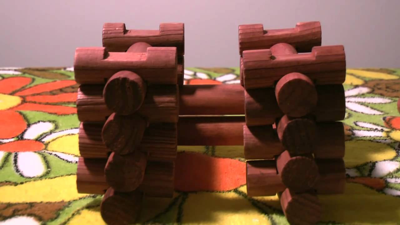how to build with lincoln logs