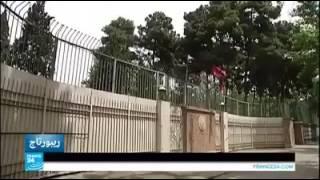 شاهد .. اسرار السفارة الامريكية في ايران !! الله يعلم شكو بالسفارة الامريكيةة ببغداد !!