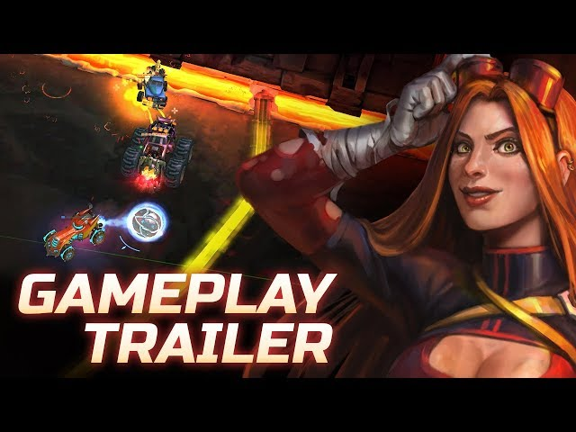 Heavy Metal Machines - Gameplay Trailer