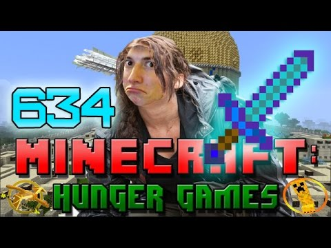 Minecraft: Hunger Games w/Bajan Canadian! Game 634 - DIAMOND SWORDS ENCHANTED!